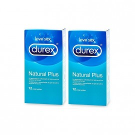 DUREX LOVE NATURAL PLUS, 24 PRESERVATIVOS