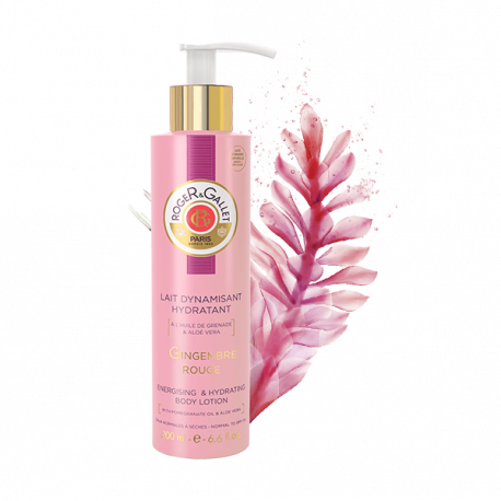 GINGEMBRE ROUGE LECHE SORBETE ENERGIZANTE ROGER & GALLET 200ML