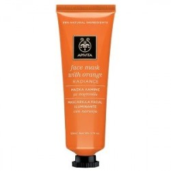 APIVITA FACE MASK MASCARILLA REVITALIZANTE CON NARANJA, 50ML