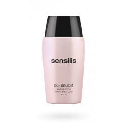 SENSILIS SKIN DELIGHT FLUIDO ANTIMANCHAS Y UNIFORMIZANTE SPF50, 50ML