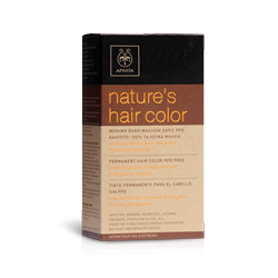 NATURE´S HAIR COLOR TONO 7.14 (CENIZA COBRIZO) APIVITA