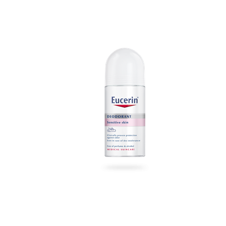 DUPLO Ph5 DESODORANTE ROLL-ON PIEL SENSIBLE EUCERIN, 2x50ml
