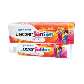 GEL LACER JUNIOR FRESA 75ml