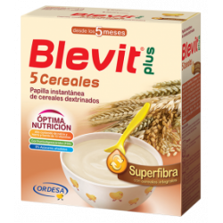 BLEVIT PLUS SUPER FIBRA 5 CEREALES, 600gr.