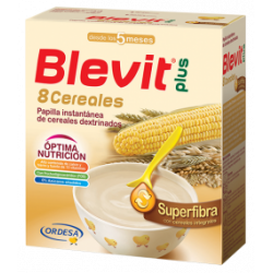 BLEVIT PLUS SUPERFIBRA 8 CEREALES, 600gr.