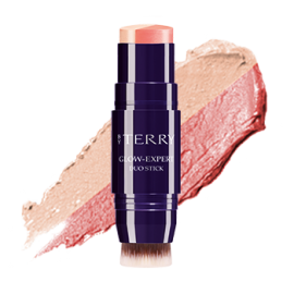 BY TERRY GLOW-EXPERT DUO STICK 3-PEACHY PETAL
