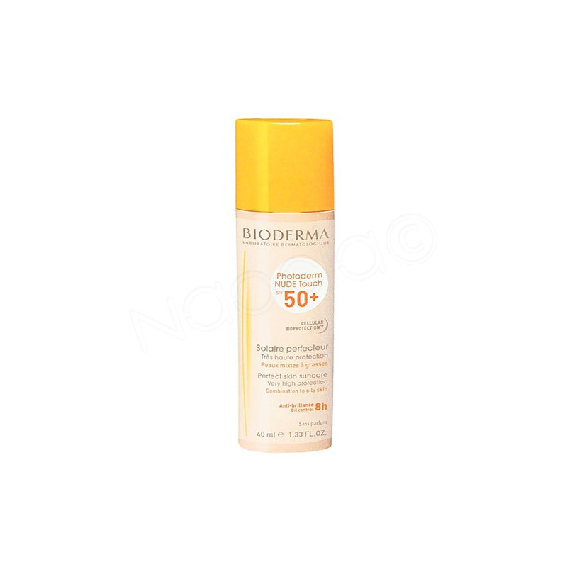 BIODERMA PHOTODERM NUDE TOUCH SPF50+ COLOR NATURAL
