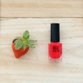 MIA COSMETICS ESMALTE 5 FREE JUICY STRAWBERRY, 11ML