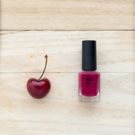 MIA COSMETICS ESMALTE 5 FREE CRIMSON CHERRY, 11ML