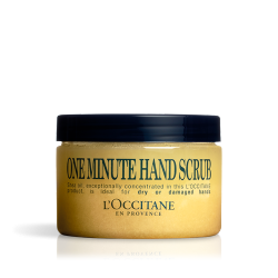 EXFOLIANTE MANOS MINUTO L'OCCITANE, 100ml