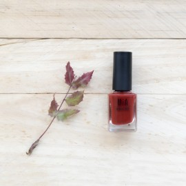 MIA COSMETICS ESMALTE 9 FREE RED MAPLE, 11ML