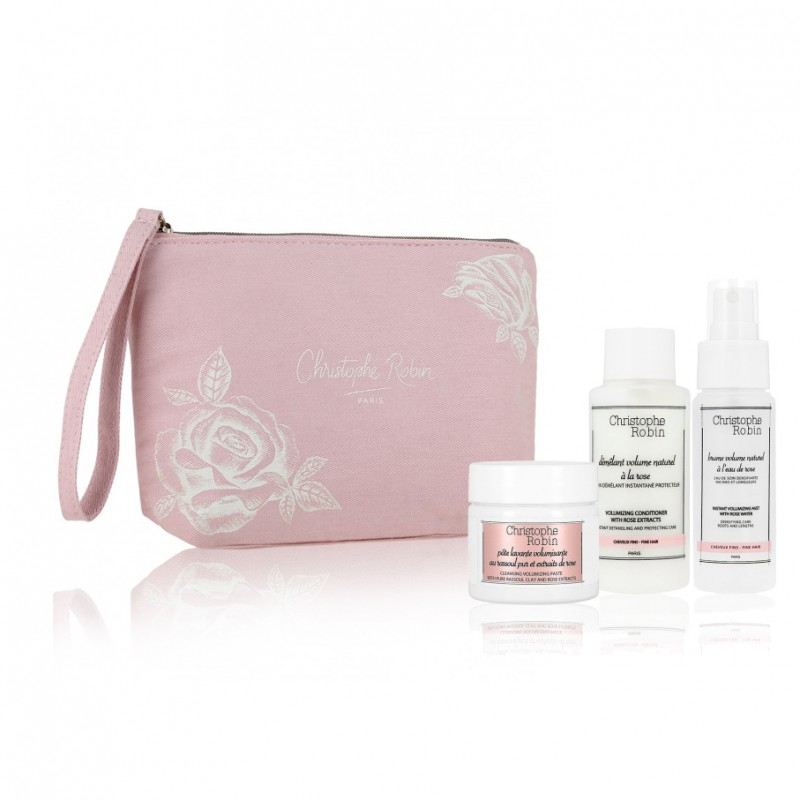 CHRISTOPHE ROBIN Ritual Volumen para el Cabello Travel Kit