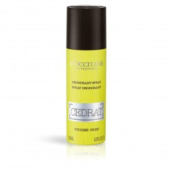 L'OCCITANE DESODORANTE SPRAY CÉDRAT, 130ML