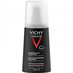 VICHY HOMME DESODORANTE VAPORIZADOR ULTRA-FRESCO SPRAY 100ML