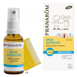 PRANAROM Spray antipiojos,30ml + lendrera