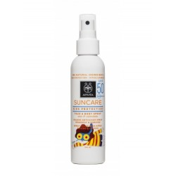 APIVITA SUNCARE KIDS PROTECTION SPRAY SOLAR CON ALOE & CALENDULA SPF50, 150ML + REGALO PULSERA SOLAR