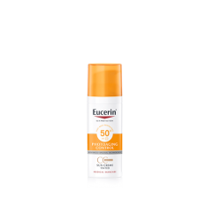 EUCERIN SUN CREMA CC SPF50 CON COLOR TONO MEDIO, 50ml