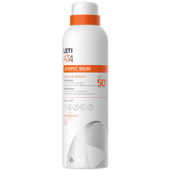 LETI AT4 DEFENSE CREMA BARRERA SPF50, 200ML