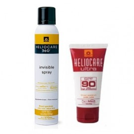 HELIOCARE COFRECITO GEL SPF90 50 ML +SPRAY INVISIBLE HELIOCARE 200 ML