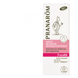 Pranarom Aceite de masaje Defensas naturales BIO, 10ml