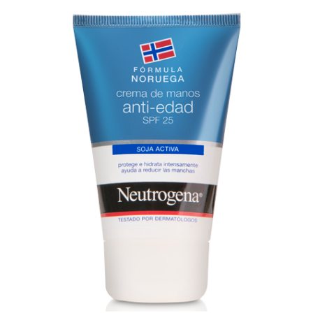 DUPLO CREMA DE MANOS ANTI-EDAD SPF25 NEUTROGENA 2x50ml