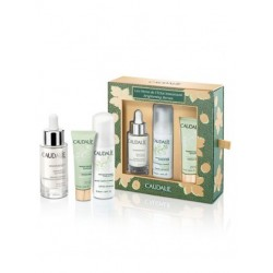 CAUDALIE COFRECITO VINOPERFECT SÉRUM RESPLANDOR ANTIMANCHAS, 30ml + REGALO SOLEIL DIVIN SOLAR FACIAL ANTIEDAD SPF50, 20ML