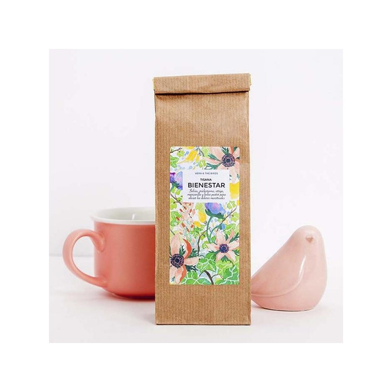 VERA & THE BIRDS TISANA BIENESTAR, 50grs