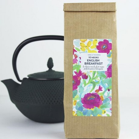 VERA & THE BIRDS TÉ NEGRO ENGLISH BREAKFAST, 50grs