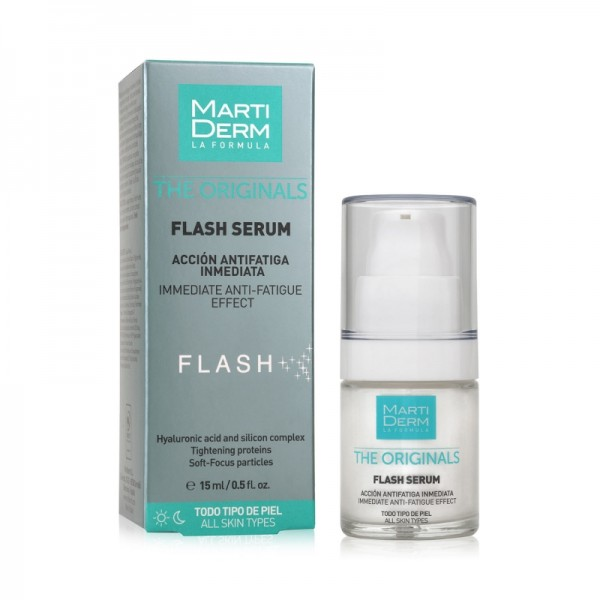 MARTIDERM THE ORIGINALS FLASH SERUM, 15ml
