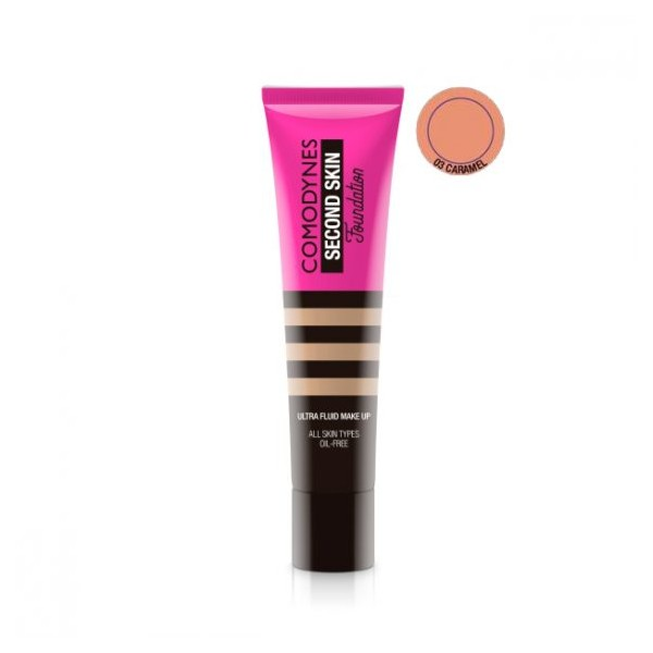 COMODYNES ULTRA-FLUID MAKE UP 03-CARAMEL