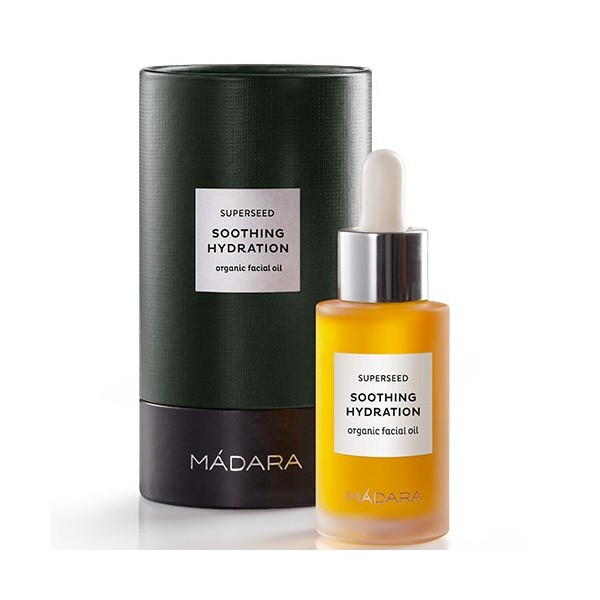 MÁDARA SUPERSEED SOOTHING HYDRATION ACEITE CALMANTE, 30ml