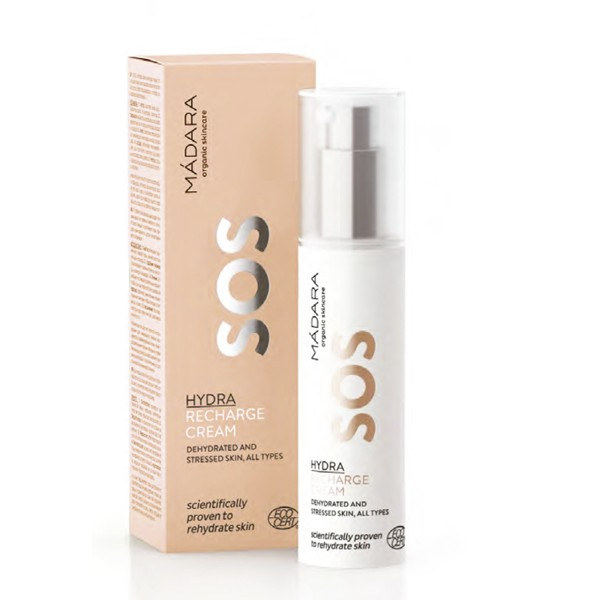 MÁDARA SOS HYDRA RECHARGE CREAM, 50ml