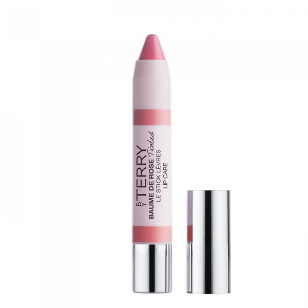 BY TERRY BAUME DE ROSE TINTED CRAYON NOURISHING LIP BALM PENCIL