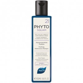 PHYTOSQUAM CHAMPÚ ANTI-CASPA PURIFICANTE PARA CABELLO CON TENDENCIA GRASA, 250ml