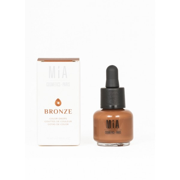 Gotas de color Tono Bronze, 15ml