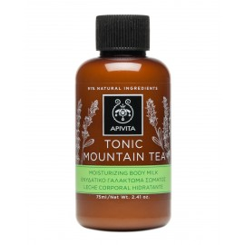 APIVITA TONIC MOUNTAIN TEA LECHE CORPORAL HIDRATANTE, 200ML