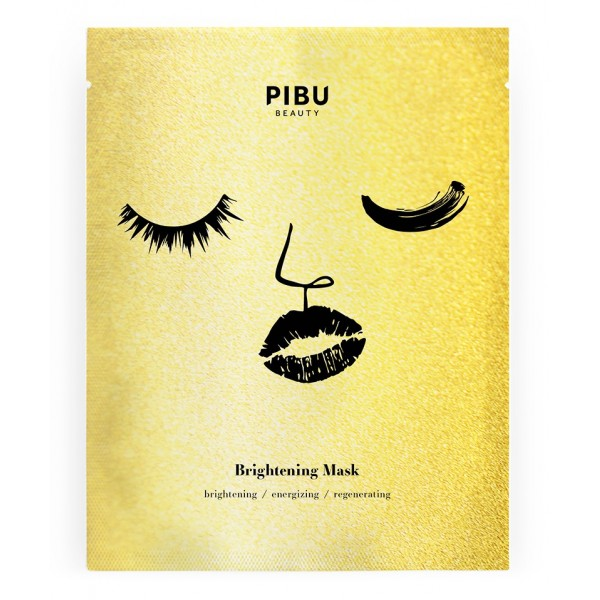Mascarilla Facial Brightening Mask Pibu, 29ml
