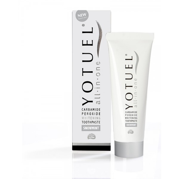 YOTUEL ALL IN ONE SNOWMINT PASTA DENTÍFRICA BLANQUEADORA 75ml