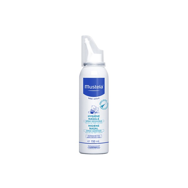 Spray Higiene Nasal Agua de mar natural, agua purificada, 150ml