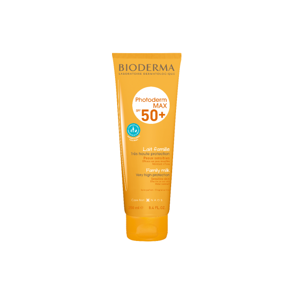 BIODERMA PHOTODERM MAX SPF5 50 LECHE FAMILIAR, 250ml + REGALO AFTER SUN, 100ml