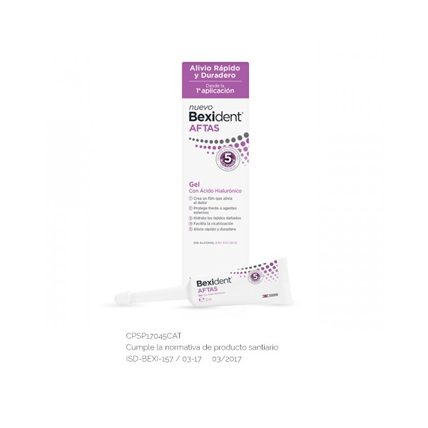Gel Aftas Bexident, 5ml