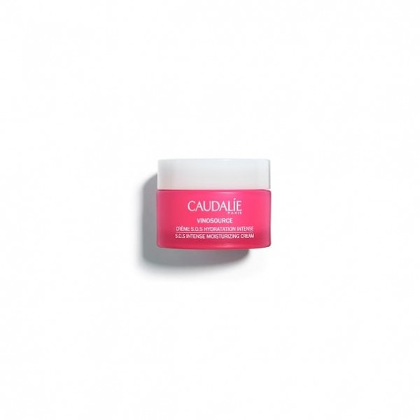CAUDALIE CREMA S.O.S HIDRATACIÓN INTENSA VINOSOURCE, 50ml