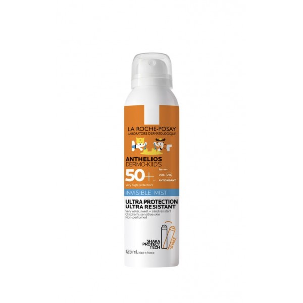 LA ROCHE-POSAY ANTHELIOS DERMO-PEDIATRICS SPF50+ SPRAY AEROSOL, 200ML