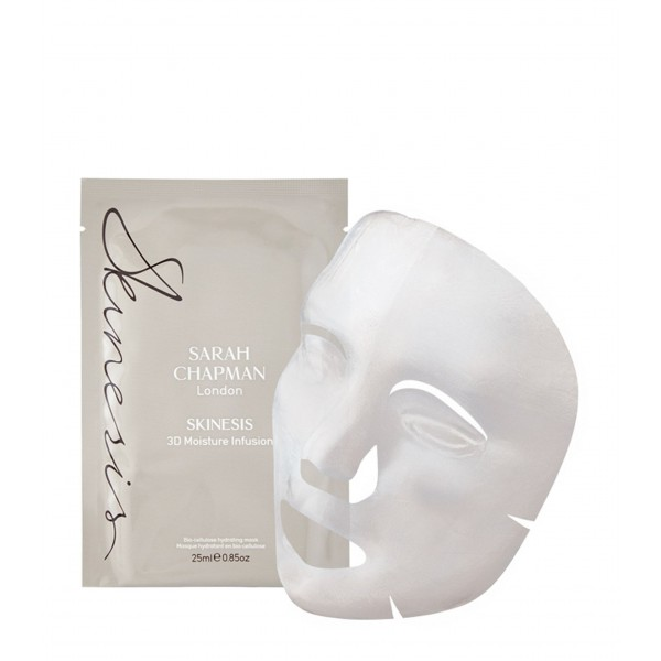 Mascarilla Facial 3D Moisture infusion, Pack de 4x25ml