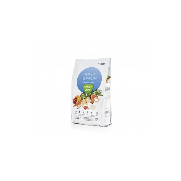 Alimento Natura Diet Puppy Junior, 3 kg