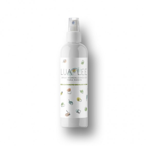 Spray Hidroalcohólico Lua & Lee, 250ml