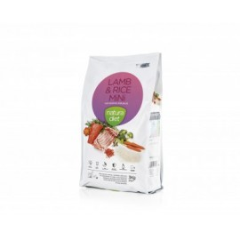 Alimento Natura Diet Lamb & Rice Mini, 3kg