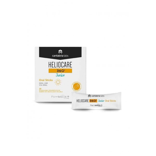 Heliocare Junior Oral Sticks, 20 Sobres
