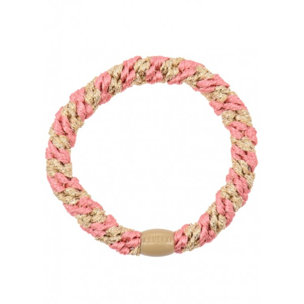 Goma Kknekki Faded Rose Beige Glitter Stripe