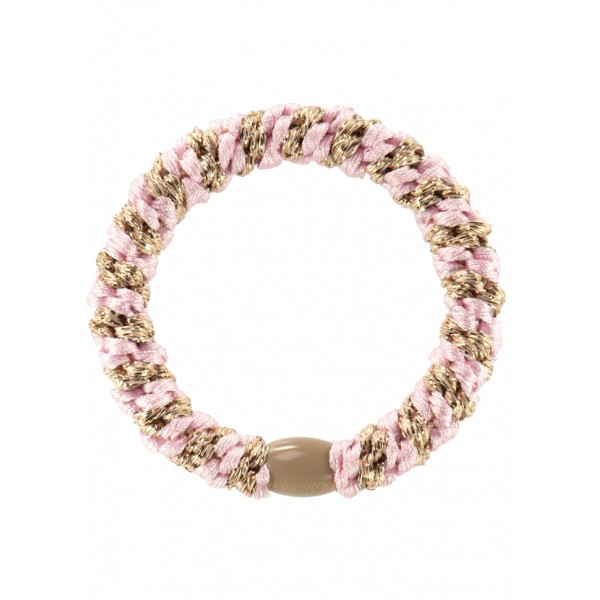 Goma Kknekki Mix Light Pink Beige Glitter Stripe